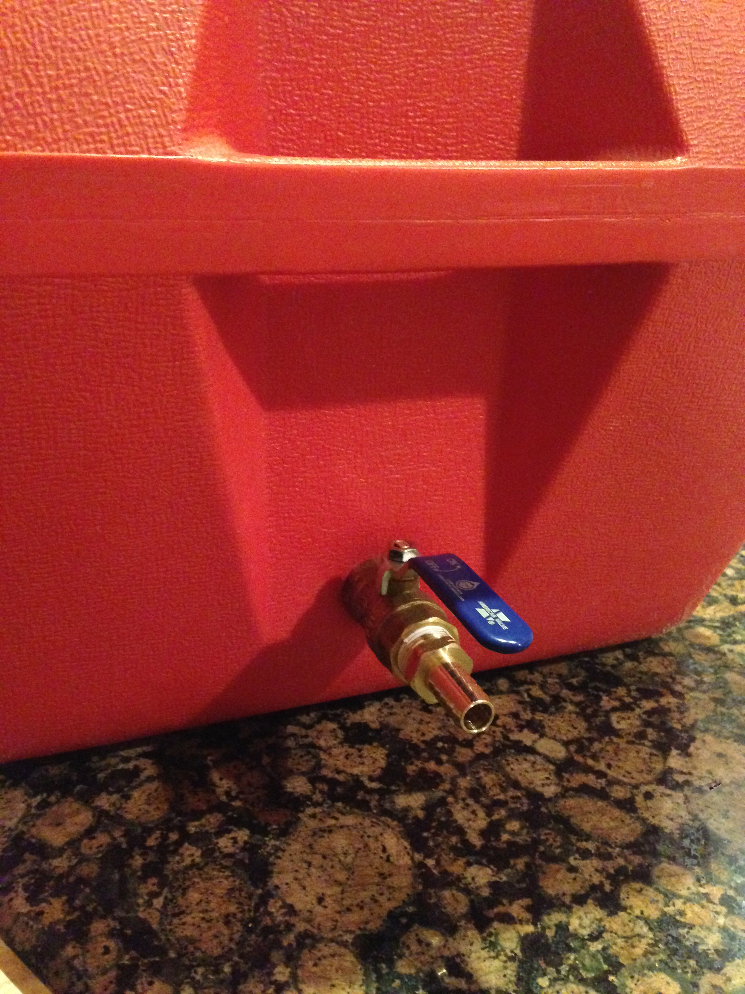 Step 5: Cooler Mash Tun | Brew on a Budget